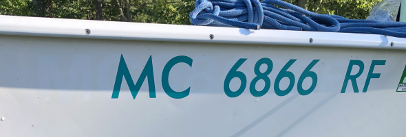 Order Boat Registration Stickers